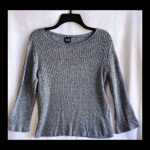 Eileen Fisher Blue Medium Lite Knit Sweater.